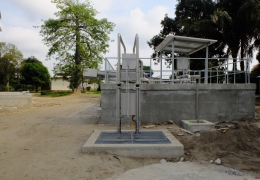 Impianto biologico per ospedale in Africa