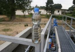 Primi risultati dell'impianto di depurazione a Kinshasa (R.D.Congo)